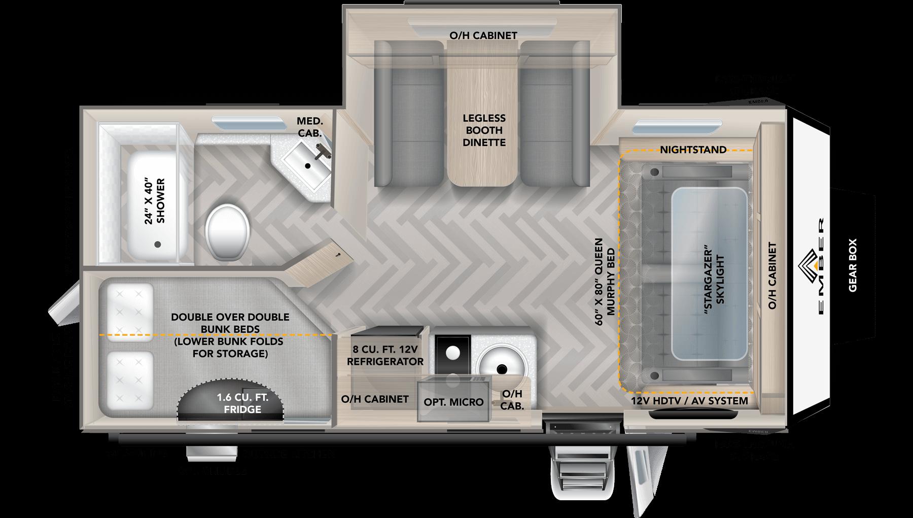 Floorplan image for 191MDB